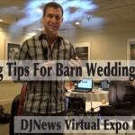 Lighting Tips for Barn Wedding Dances DJN Virtual Expo #ChauvetDJ