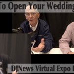 Wedding Reception Kickoff Music DJN Virtual Expo with Ron Ruth and Mike Lenstra