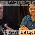 Tips for Lighting A Wedding Head Table DJN Virtual Expo with Nick Airriess